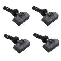 Set 4 Alligator TPMS Tire Pressure Sensor 433 MHz Rubber fits 2011-2018 Fiat 500