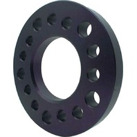 "Wheel Spacer 5x4.50 / 4.75 / 5.00 Bolt Pattern 3/4"" Thick Aluminum Black Anodize"