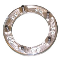 """Wide 5 Wheel Spacer 5/8-11 Threaded 1"""" Thick Aluminum"""