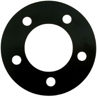 "Allstar Performance Wheel Spacer 5x5 Bolt Pattern 1/8"" Thick Steel Black Paint"