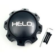 Helo Wheels HE878 8 Lug Satin Black Center Cap 1079L170HE1SB