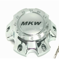 MKW Chrome Wheel Center Hub Cap 5 Lug MKC-E-045C