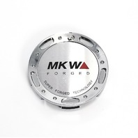 MKW Forged Chrome/Machined Logo Wheel Center Cap Part# LA-65