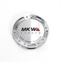 MKW Forged Chrome/Machined Logo Wheel Center Cap Part# LA-65