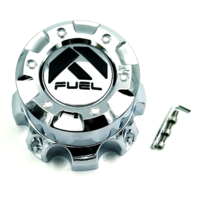Fuel Chrome 8 Lug Wheel Center Cap Tall 1001-60