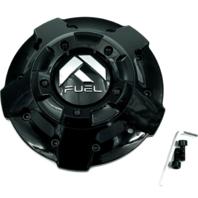 Fuel Gloss Black Wheel Center Cap 5/6/8 Lug D606 Avenger D615 Contra 1003-81GBR