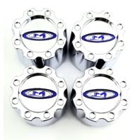 Set of 4 Moto Metal 950 951 Chrome Wheel Center Hub Cap 5 Lug 6 Lug Small 353K83