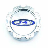 "Moto Metal Chrome Wheel Center Caps 8 Lug Short 5.1"" Snap On 353K133"