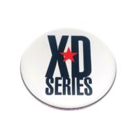 """KMC XD Series Monster 778 Chrome Silver Logo Sticker Only 3-1/16""""Diameter"""