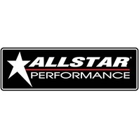 Allstar Performance Decal 3 in x 10 in Black