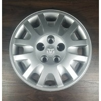 "2004-05 OEM Dodge Silver 16"" Hubcap Wheel Cover for Grand Caravan 04766336AA"