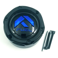 """Fuel Forged Gloss Black Center Cap for 20""""-28"""" 5/6/8/10 Lug FF01-FF12 Styles"""