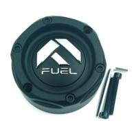 "Fuel Forged Matte Black Center Cap 20""-28"" 5/6/8/10 Lug FF01-FF12 Style Wheels"