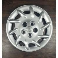 2001-2002 OEM Chrysler Voyager 15' Silver Hubcap Wheel Cover P/N: 04694963AA