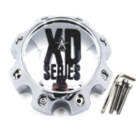 KMC XD Series 8 Lug Chrome Wheel Center Cap 1079L170 XD798 801 810 796 807 CRANK