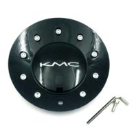 KMC 677 D2 Gloss Black Wheel Center Hub Cap for All 677 Wheel Sizes 496L170B001