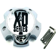 KMC XD Series 796 797 798 Chrome 5 Lug Wheel Rim Center Cap 1079L140A