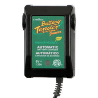 Battery Tender Junior 6V Automatic Battery Charger & Maintainer 1.25 Amp