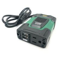 Battery Tender 120W Power Inverter 12V Input Dual USB AC Port Cigarette Adapter