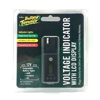 Battery Tender Quick Disconnect Voltage Indicator w/ LCD Display