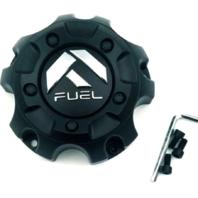 Fuel Wheel Center Hub Cap Matte Black 5 Lug 5x135 5x5.5 1001-61B