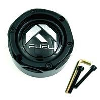 Fuel Off Road Wheel Center Hub Cap Gloss Black for 4 Lug UTV Wheel