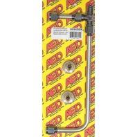 Polished S/S 4150 Carb Fuel Line Kit