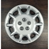 2000 OEM Chrysler Sebring Silver Wheel HubCap 15'' 10 Spokes 04764913AB-C