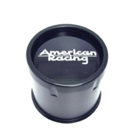American Racing Satin Black Push-Thru Wheel Center Hub Cap AR923 AR969 8 Lug