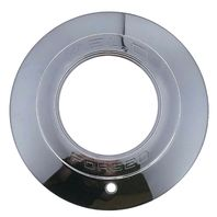 "Weld Racing Forged Wheel Center Hub Cap 8"" Chrome Plastic Open End Evo Commando"
