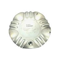 NS Racing Wheel Center Cap Machined SIlver & Black C-055-1 S1050-NS01