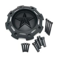 KMC XD Series Matte Black Wheel Center Hub Cap for XD811 RS2 Rockstar II