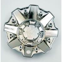 Fuel Chrome Wheel Center Cap for 5/6/8 Lug Sledge D631 Part # 1001-79