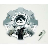 Fuel Chrome Wheel Center Cap for 5/6/8 Lug Sledge D631 Part # 1001-79