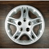 1998-2000 OEM Dodge Intrepid Silver Wheel Hubcap 15'' 5 Spoke P/N: 0QX34TRMAB