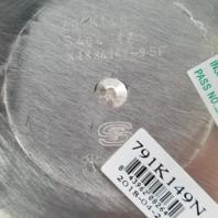Helo Chrome Wheel Center Hub Cap Snap-In 8 Lug for HE791 Maxx P/N: 791K149N