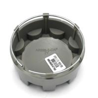 "American Racing 898 Dark Silver 3"" Wheel Center Cap Snap In for 5x4.5 5x5 AR898"