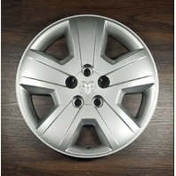 2007-2009 OEM 17'' Dodge Caliber Silver Wheel Hubcap 5 Spoke P/N: 05105021AC