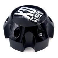 KMC XD Series 796 797 798 808 Gloss Black 6 Lug Wheel Center Cap 1079L140GB