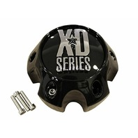 KMC XD Series 796 797 798 808 Gloss Black 6 Lug Wheel Center Cap 882-1406-CAP