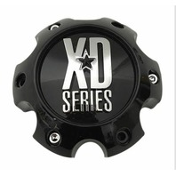 KMC XD Series Gloss Black Center Cap 6 Lug 6x139.7 6x5.5 for XD 808 812 813