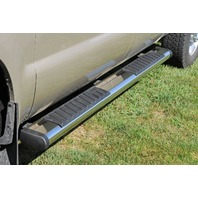 "Dee Zee DZ16123 6"" Oval Stainless Steel Truck Nerf Bar Pair Running Boards"