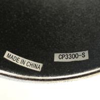 "AWC Allied Wheel Center Hub Cap 3.30"" OD Push Thru Steel Chrome CP3300-S"