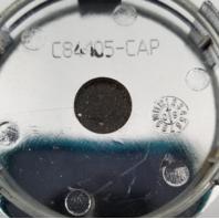 NS Racing Chrome/Black Wheel Center Cap fits NS1202 Part# C84105-CAP