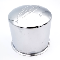 Raceline Chrome Push Thru Wheel Center Cap 8X6.5, 8X170 Part # CPR5150-S