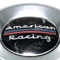 "American Racing 8 Lug Ford Wheel Center Hub Cap 5.15"" Push Thru 1515002L Steel"
