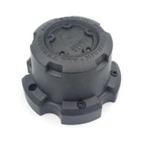 Granite Alloy All Terrain Matte Black Wheel Center Cap 89-9857G C603703