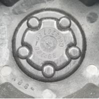 Granite Alloy All Terrain Matte Black 6-Lug Wheel Center Cap C603701 89-9864GB