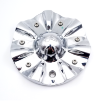 Alba Karma SUV Chrome Wheel Center Cap for 18x8.5, 20x8.5, 22x9.5