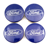 Set 4 Ford C-Max Edge Escape Fiesta Focus Fusion 2011-2016 OEM Wheel Center Cap